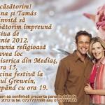 Invitatii de nunta magnetice